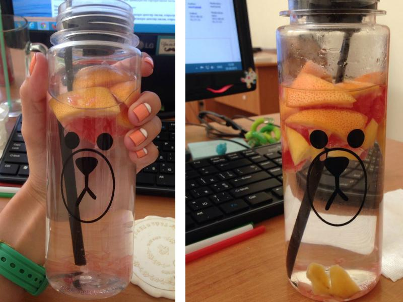 Drink fruit infused water
