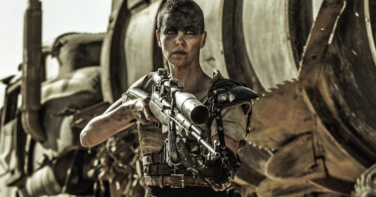 "1. Furiosa from ""Mad Max"""