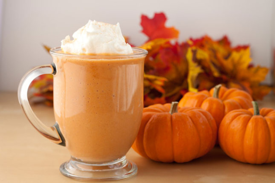 1. Pumpkin Spice Smoothie