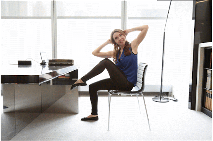 12 Easy Exercises You Can Do At The Office 12
