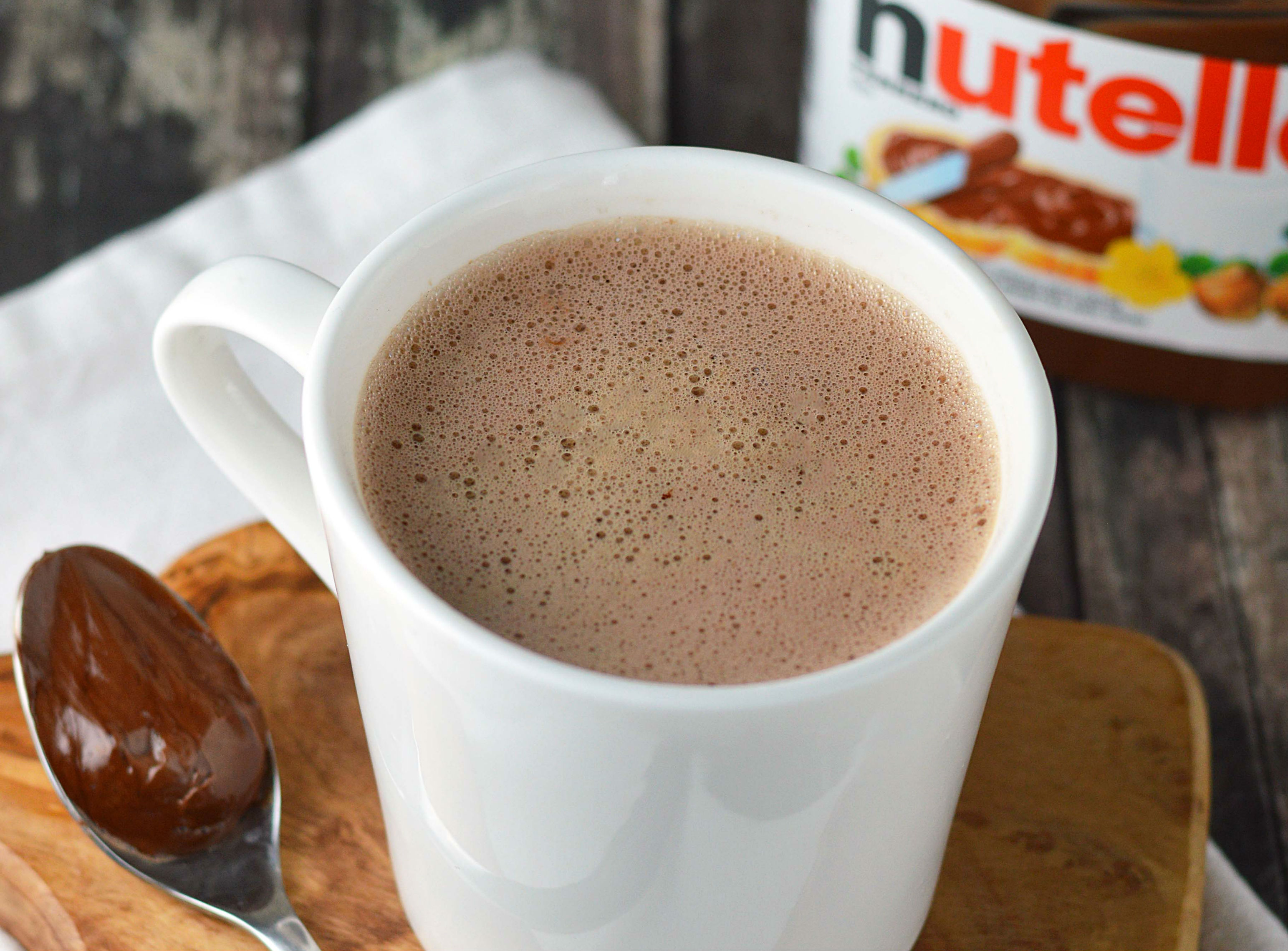 13. Nutella Latte