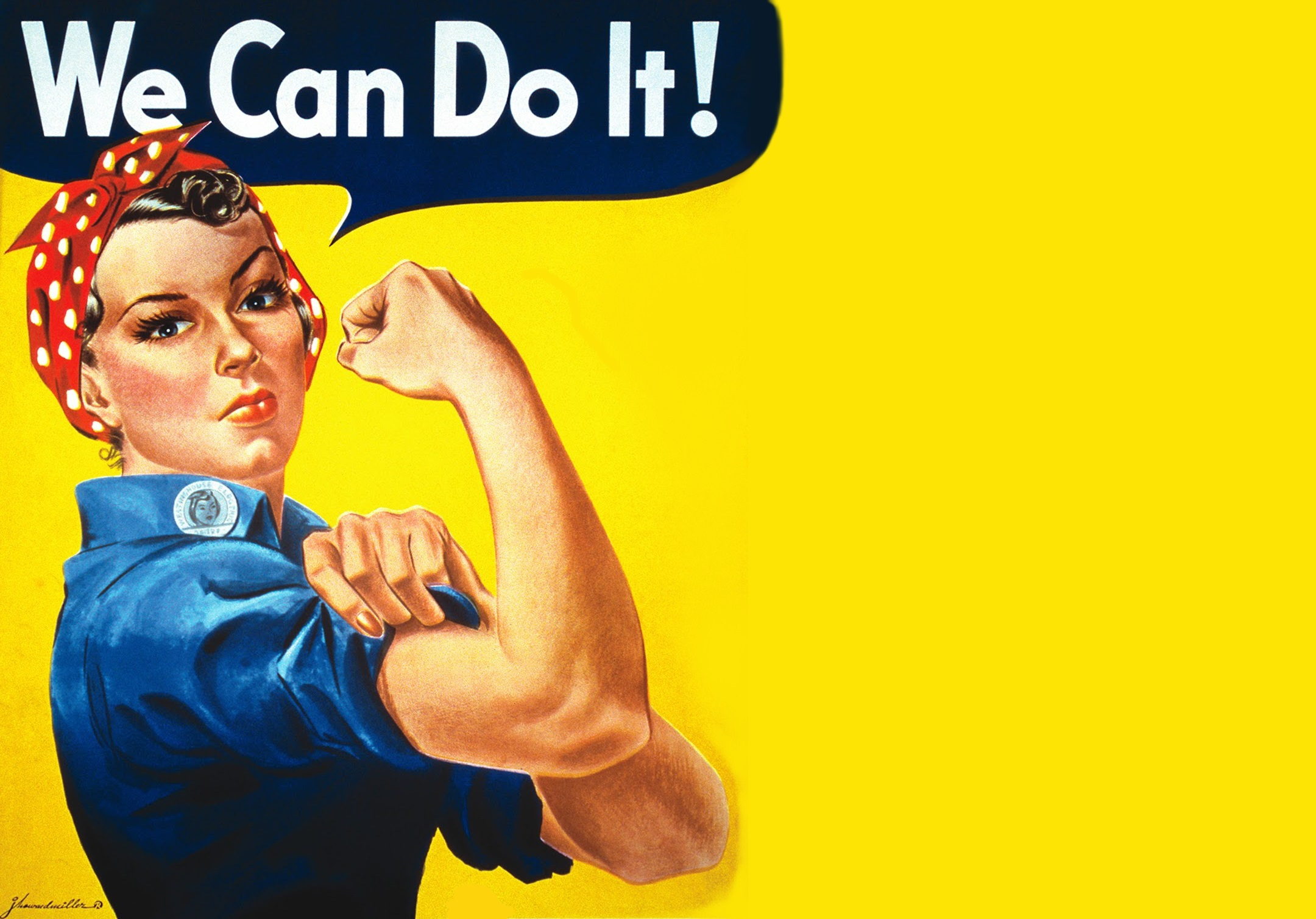 14. Rosie the Riveter