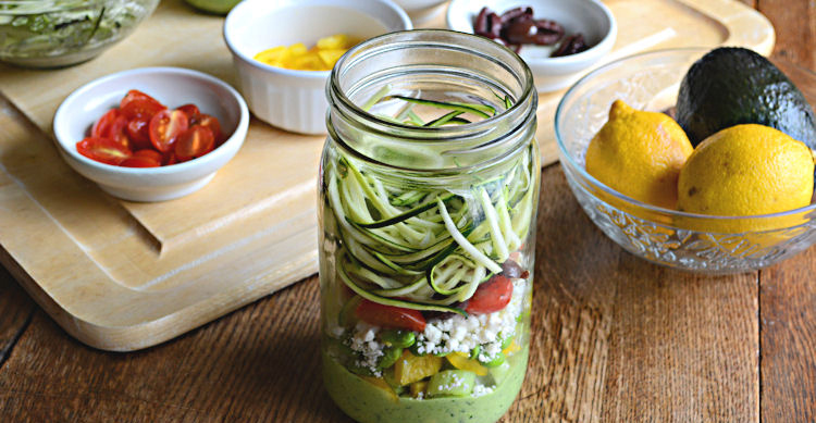 http://www.sugarfreemom.com/recipes/mason-jar-zucchini-pasta-salad-with-avocado-spinach-dressing/