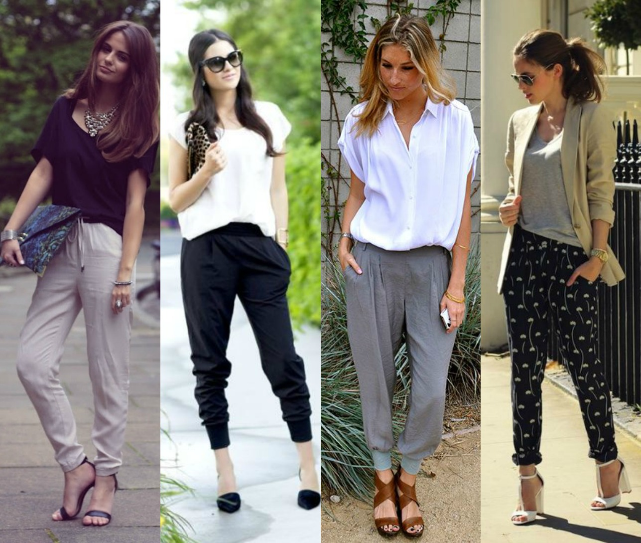 3. Slouchy Harem Trousers