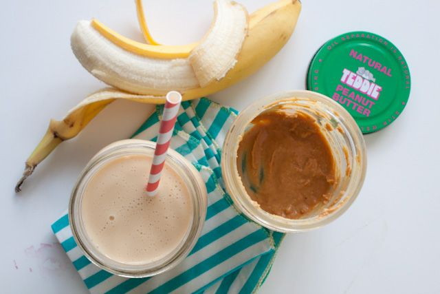5. Peanut Butter Banana Coffee Milkshake