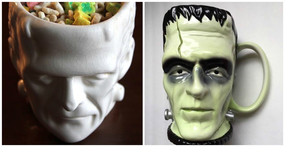 6. Frankenstein mugs