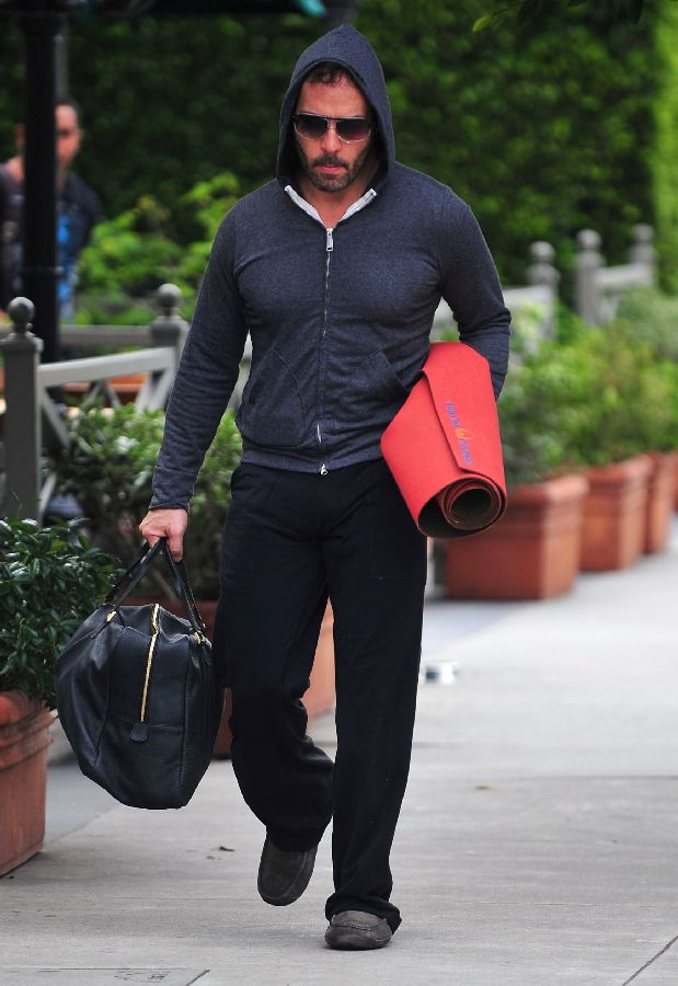 Jeremy Piven is seen after his yoga workout in Santa Monica. Los Angeles, California - 10.01.10 Credit: WENN.com