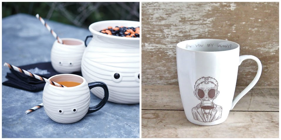 8. Mummy mugs