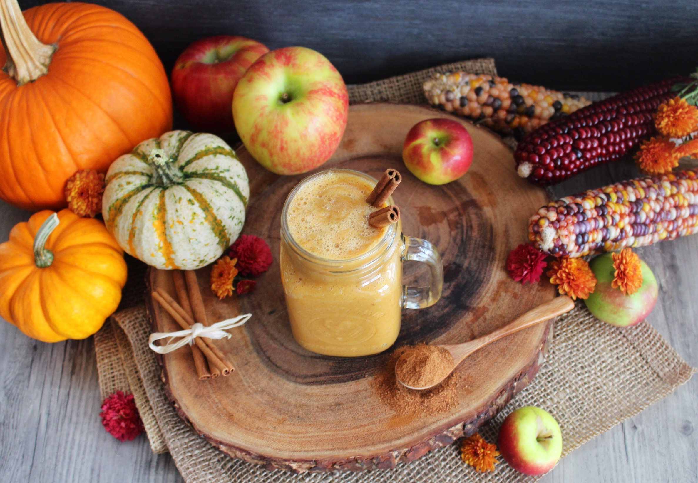 9 Healthy and Delicious Drinks (Smoothies) for Fall