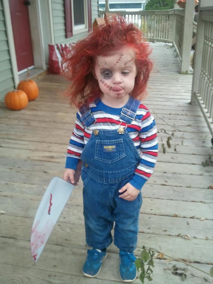 10 Halloween Makeup Ideas for Kids | Her Beauty  Chucky Costume For Kids