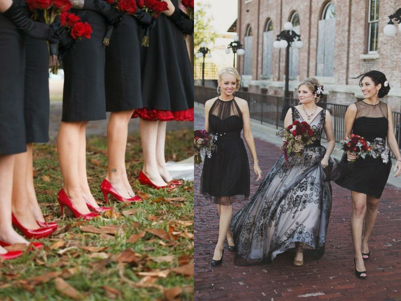 Elegant and Spooky Halloween Wedding Ideas 7