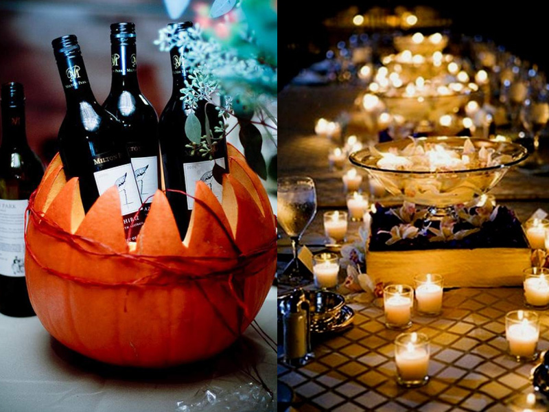 Elegant and Spooky Halloween Wedding Ideas 8