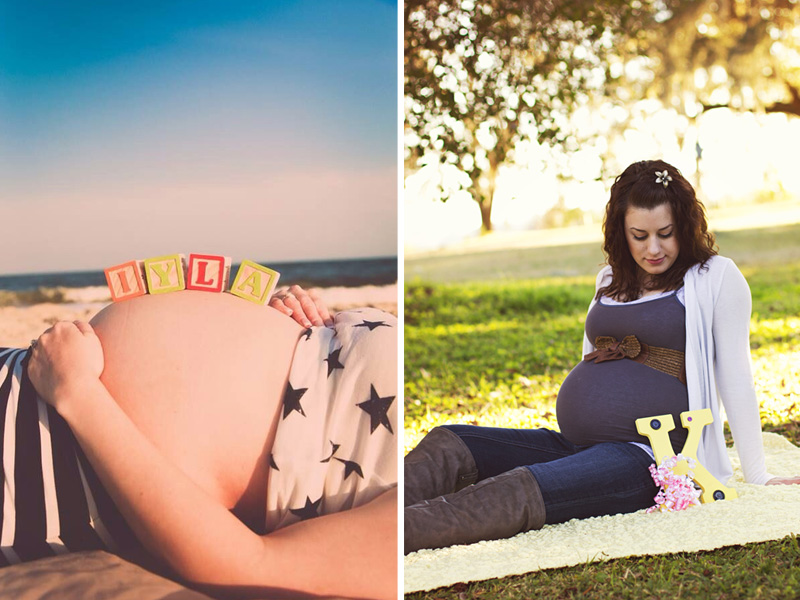 Fun And Creative Pregnancy Photo Ideas 21