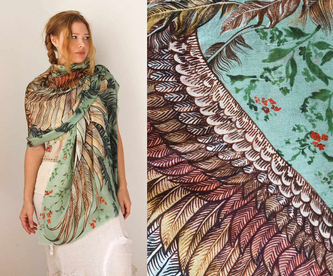 Wings Scarves A Must Have For This Fall 7