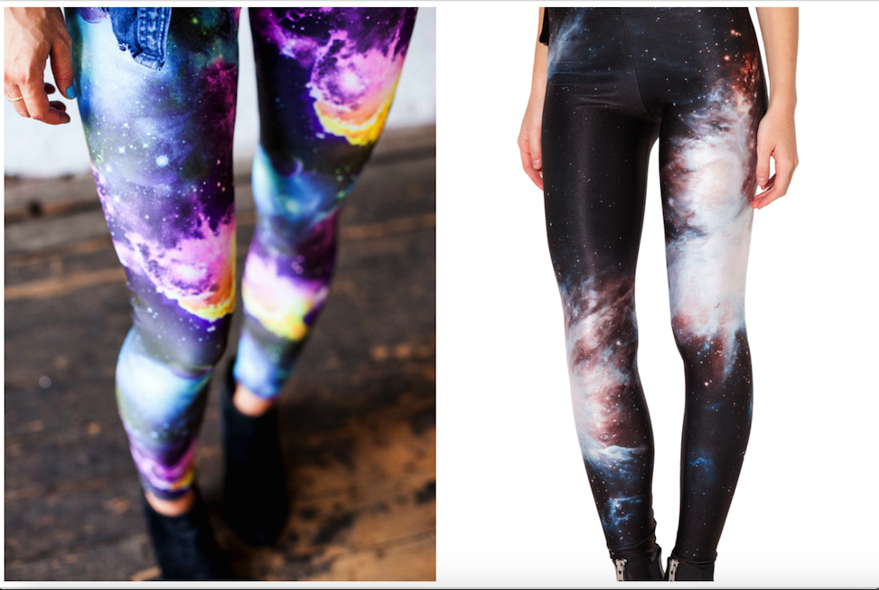 1.Galaxy Yoga Pants