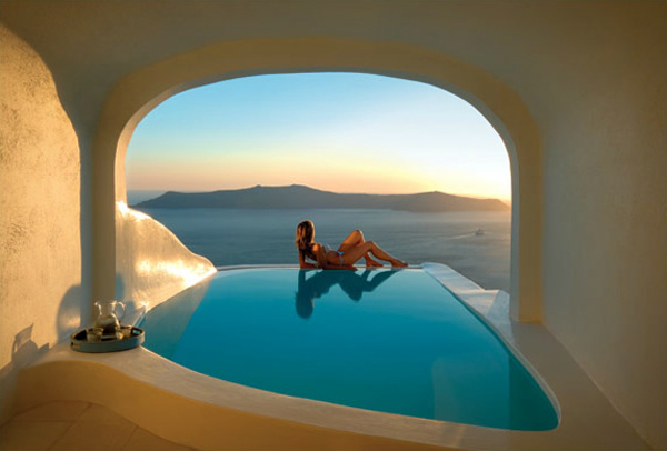 11. Kiekies hotel pool, Santorini, Greece 2