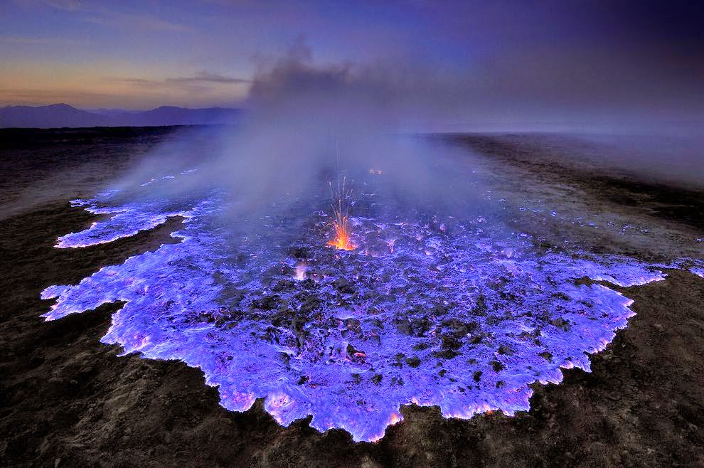 17. Ijen Volcano, East Java, Indonesia