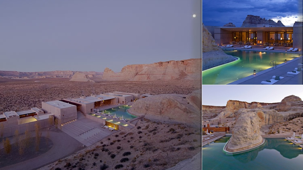 3. Amangiri Resort in Canyon Point, Utah 1