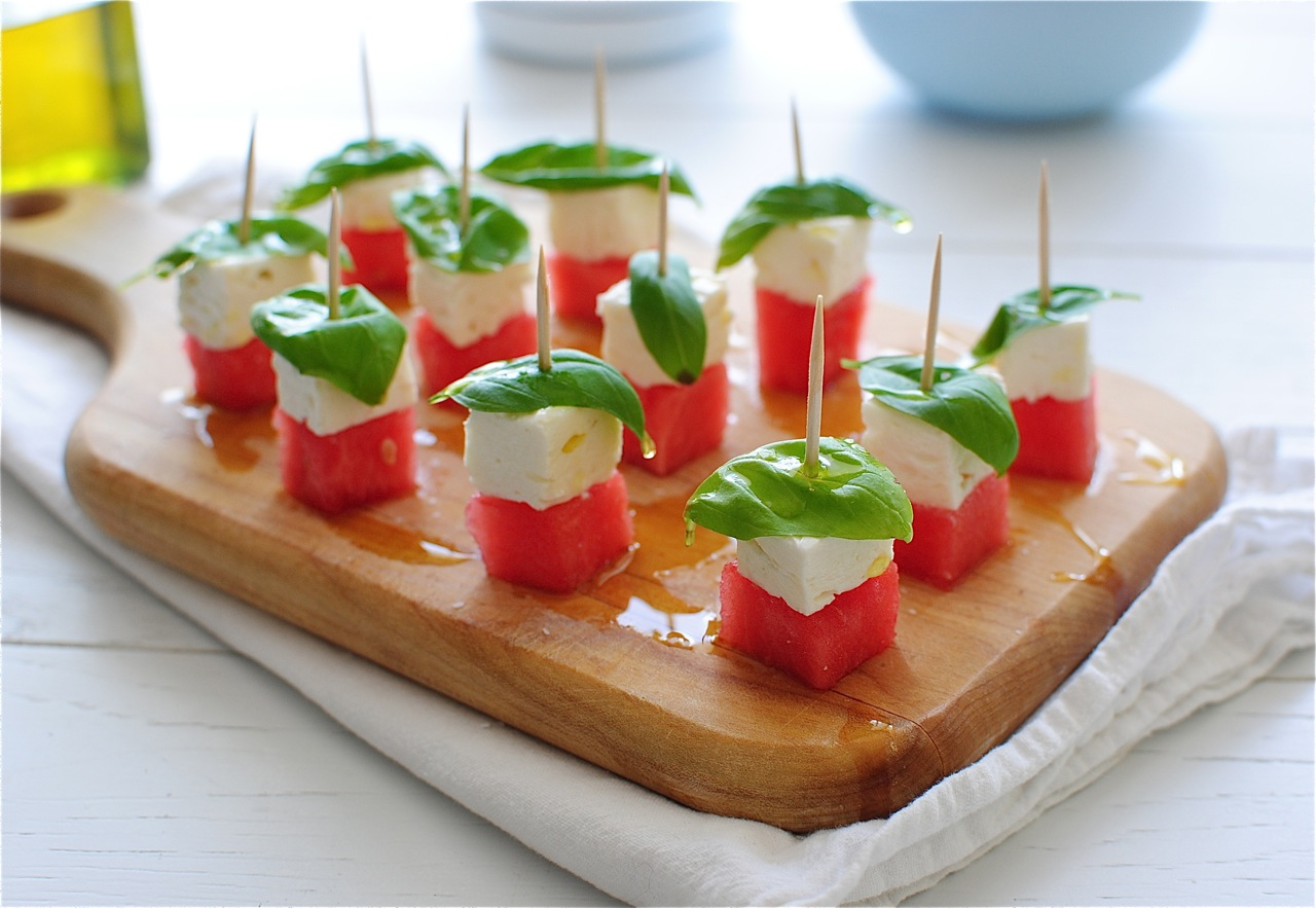 3. Watermelon & Feta