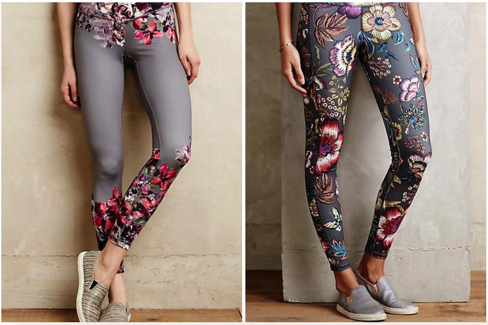 3.Floral Yoga Pants Part 1