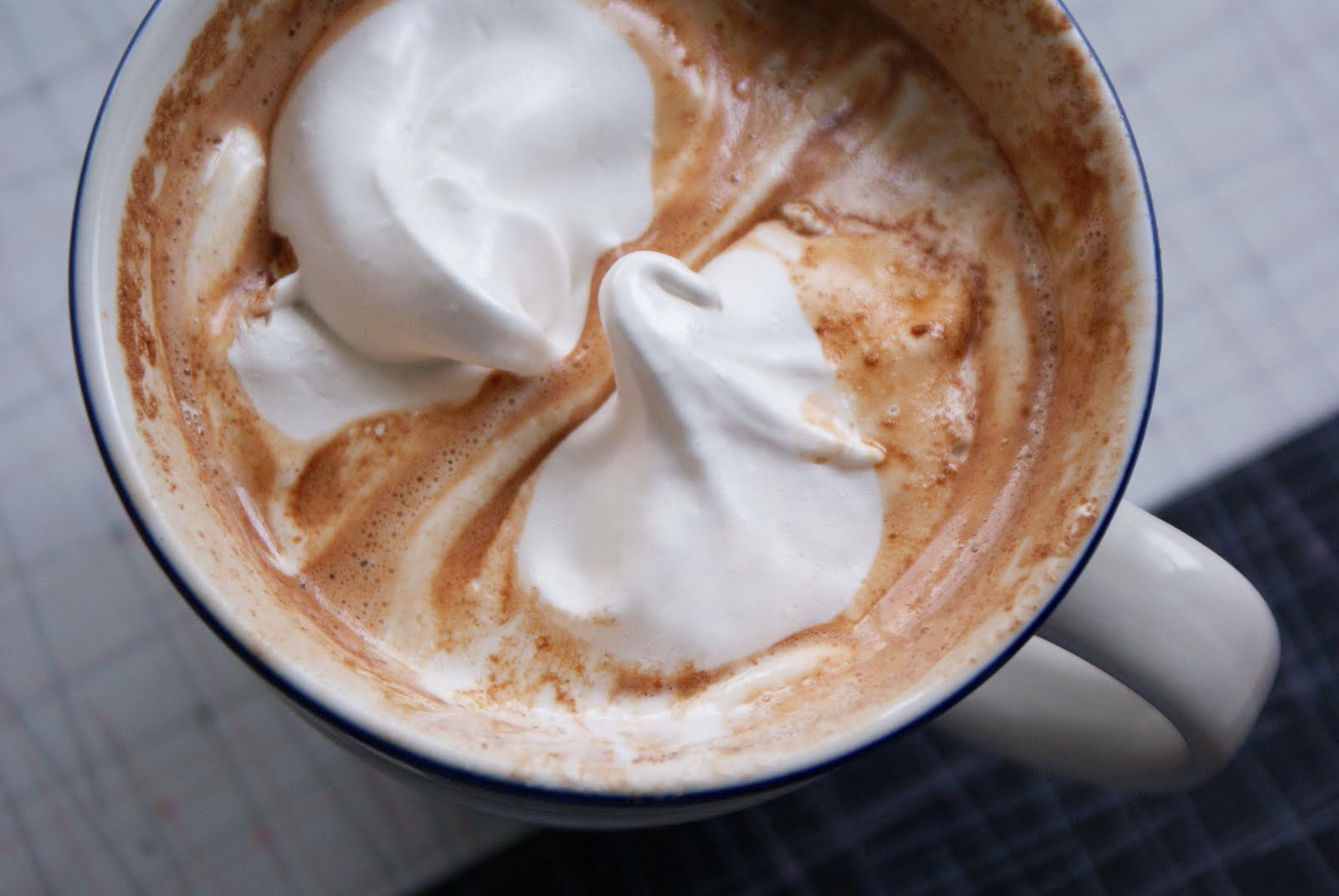 4. Salted Peanut Butter Hot Chocolate