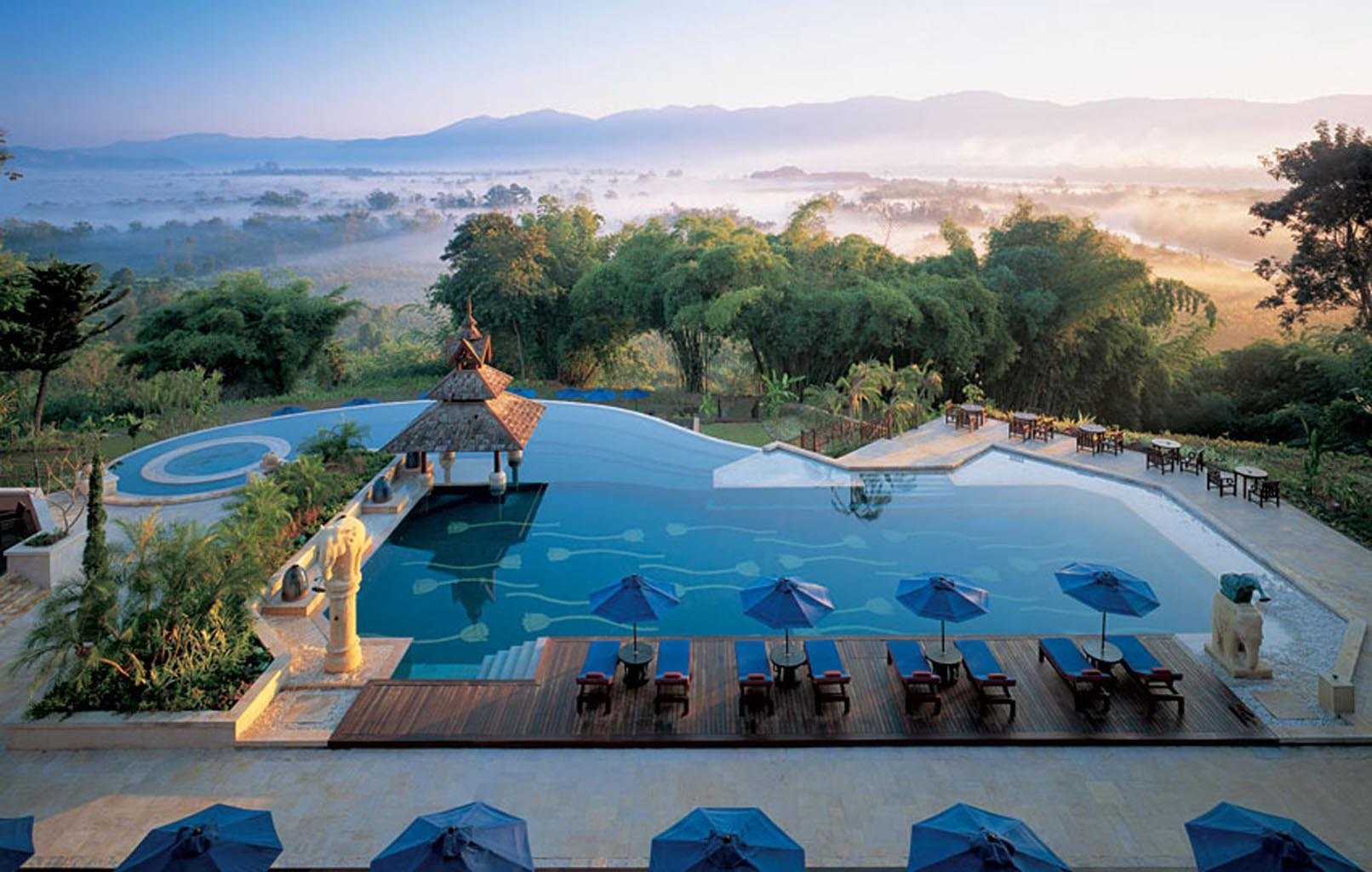 5. Golden Triangle Resort, Chiang Rai, Thailand 1