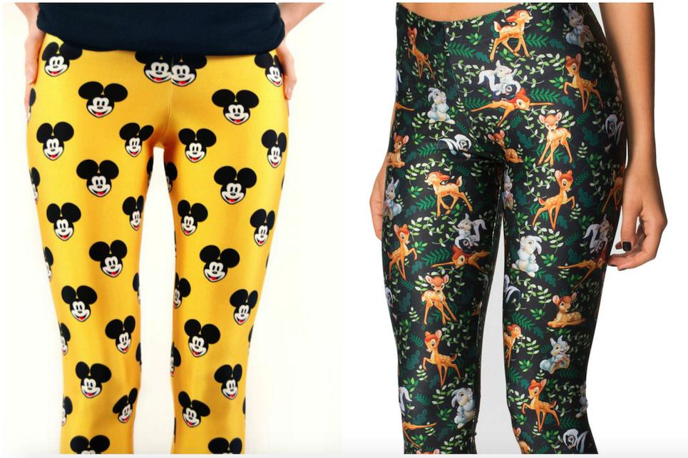 5.Disney Yoga Pants