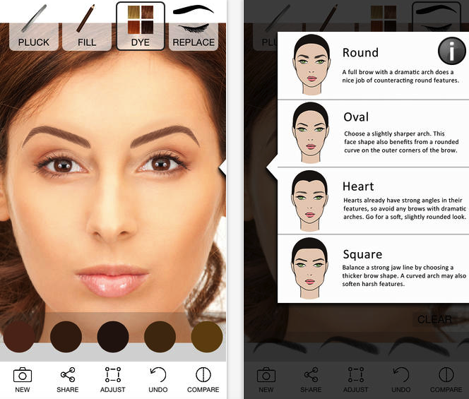 6 Best Eyebrow Tutorial Apps 5