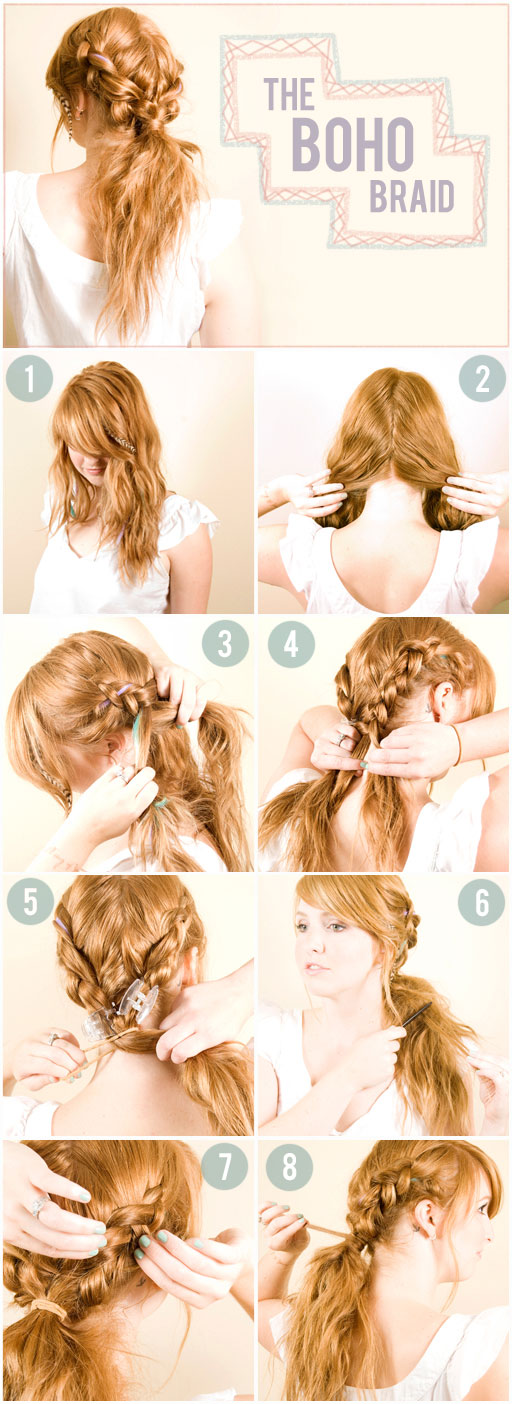 7 Fantastic Hairstyles Step By Step 4