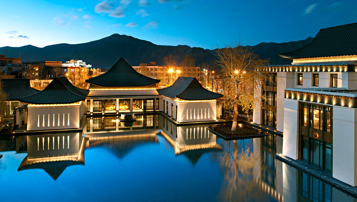 7. Gold Energy Pool at St. Regis in Lhasa, Tibet 1