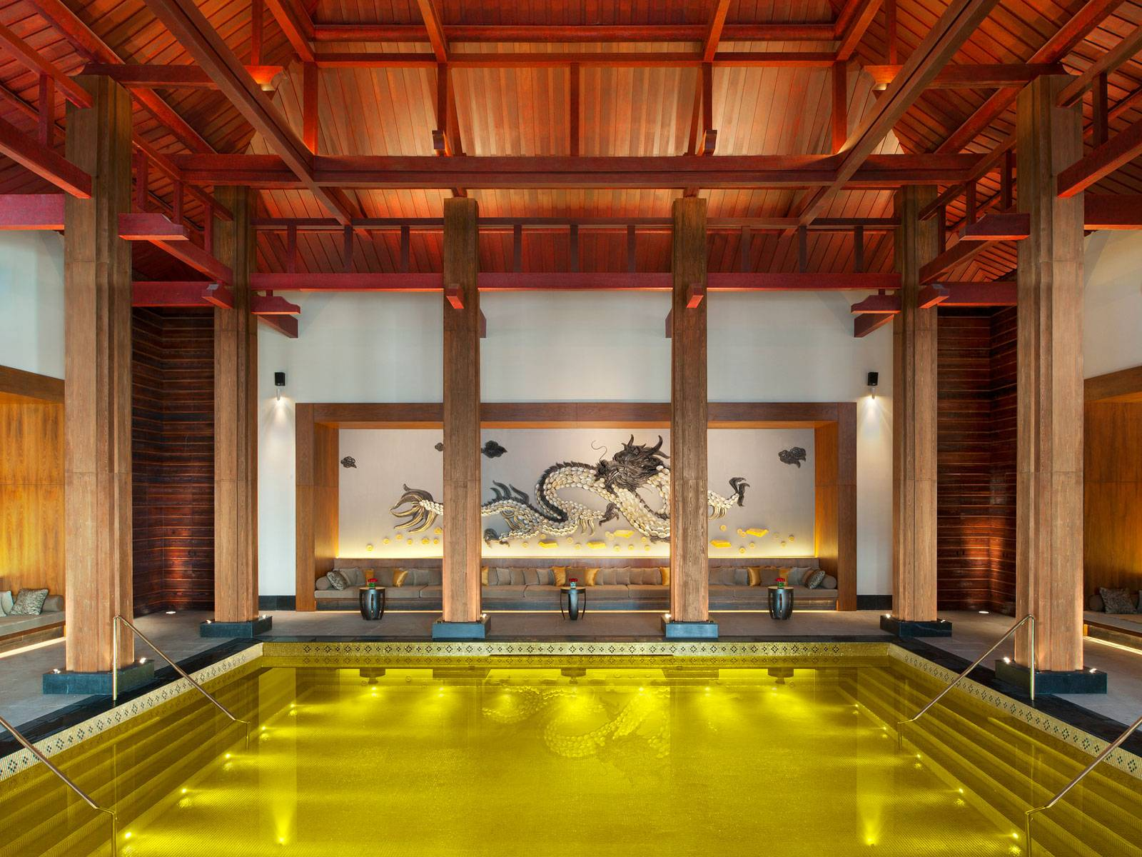 7. Gold Energy Pool at St. Regis in Lhasa, Tibet 2