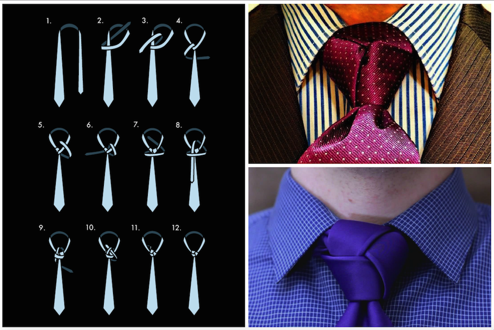 9 Most Unusual Ways To Tie A Tie 4