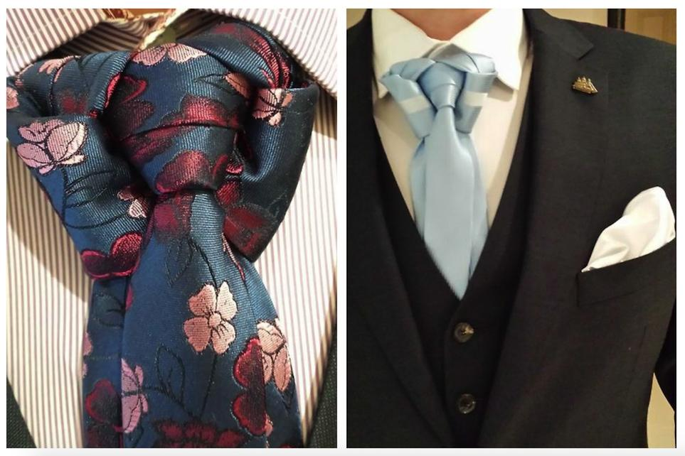 9 Most Unusual Ways To Tie A Tie 5