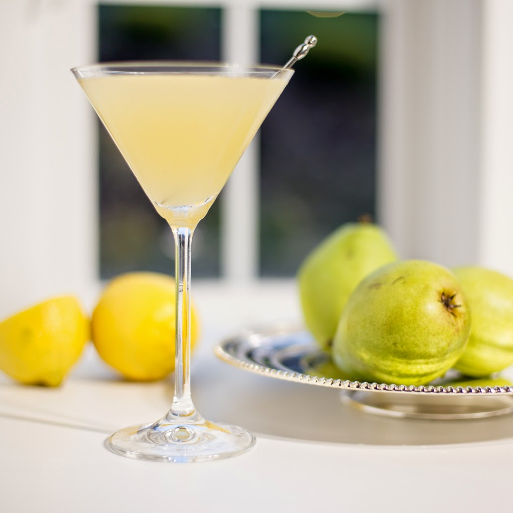 9 Pear Vodka Martini
