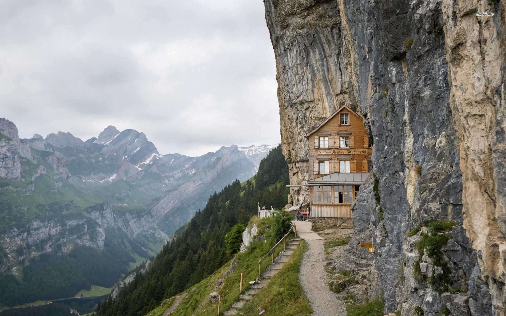 9. Aescher Hotel, Switzerland
