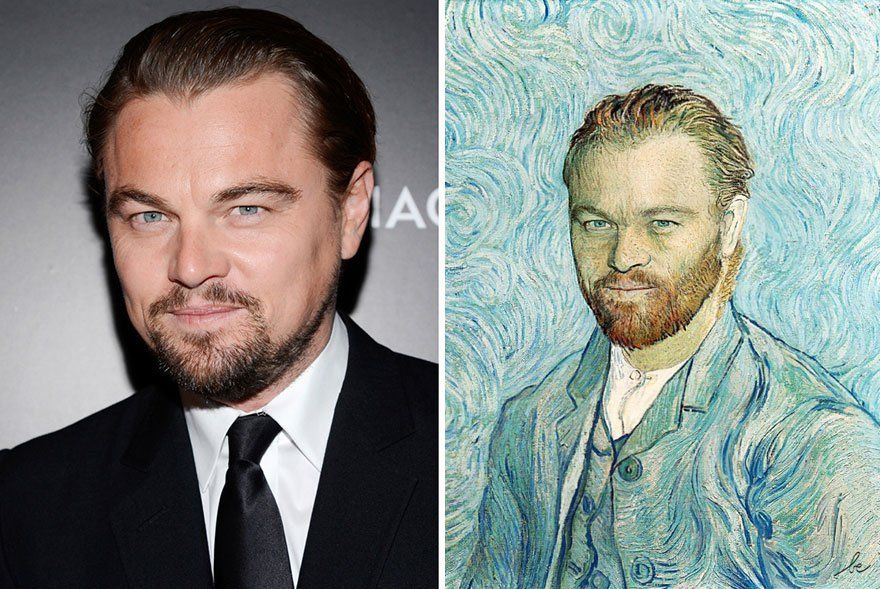Modern Celebs Get Mashed Up With Classic Works Of Art by Bénédicte Lacroix 3