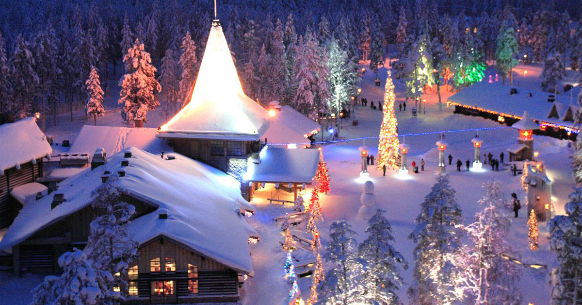 Santa Claus Village, Finland christmas