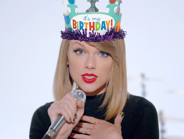 Taylor Swift's Got Us A Present For Her Birthday 1