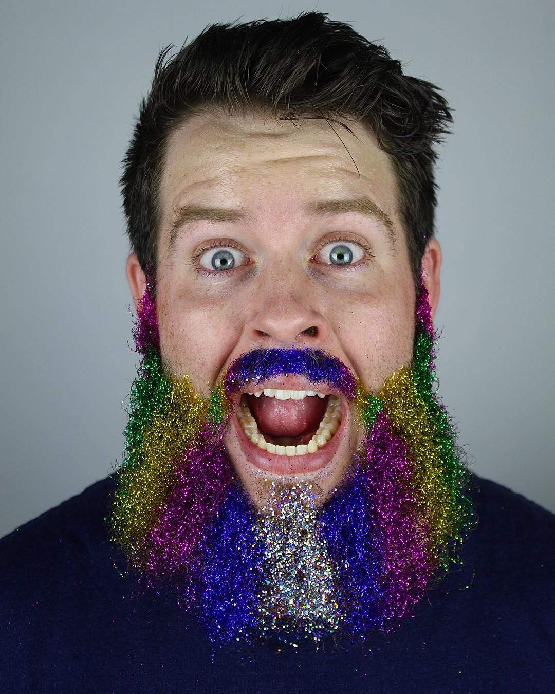 13 spectacular glitter beards on instagram her beauty 13spectacularglitterbeardsoninstagram02 rainbow glitter beard solutioingenieria Gallery
