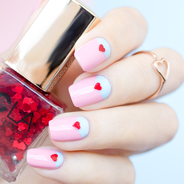 20 Lovely Nail Art Ideas for Valentine\'s Day | Her Beauty
