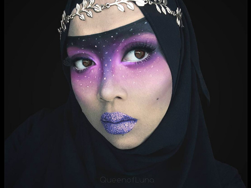 This Makeup Artist Uses Her Hijab To Turn Into Disney Characters - Makeup artist uses hijab to transform herself into disney characters