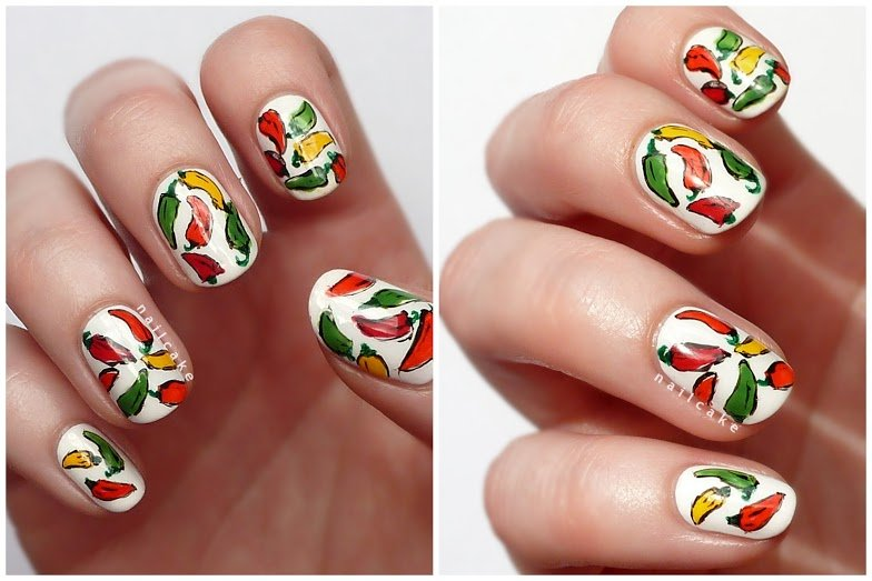 13 Festive Mexican Style Nail Designs Her Beauty