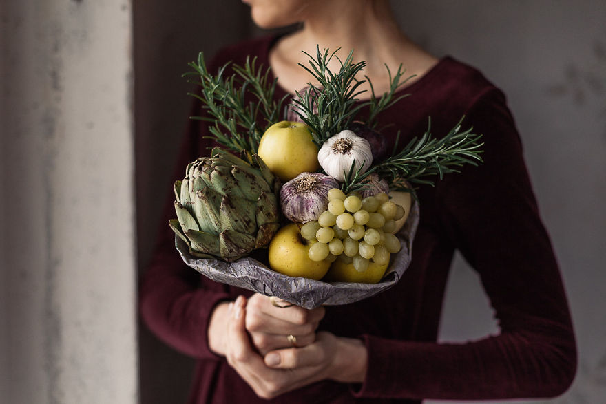One-Of-A-Kind Bouquets That You Can Eat 04