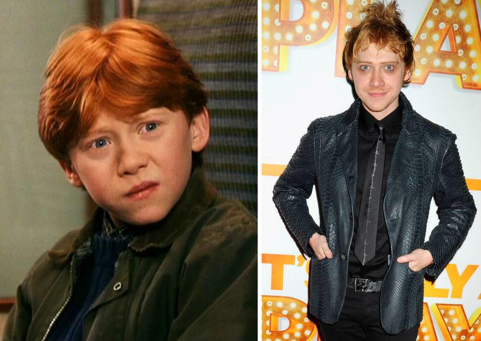 Harry Potter Actors: T... Rupert Grint Today