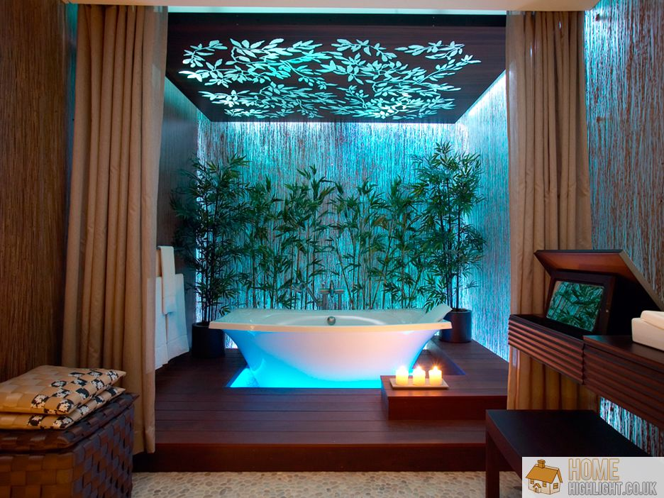 Eye Catching Tropical Bathroom Ideas 09