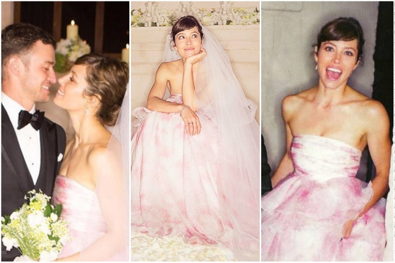 10_Celebrity_Brides_Who_Wore_Non-Traditional_Wedding_Dresses_4