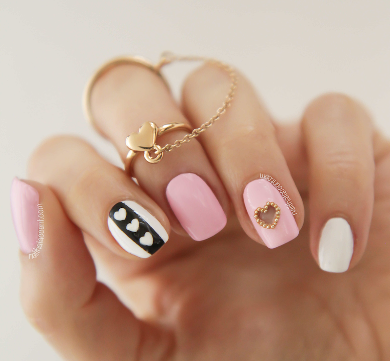 15_So-Pretty_Nail_Art_Designs_for_Valentine's_Day_14