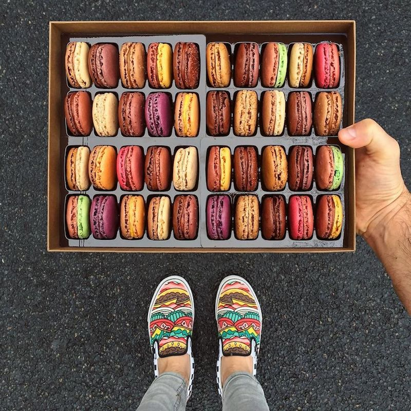 The_Craziest_Parisian_Desserts_Matched_With_Men_Shoes_4