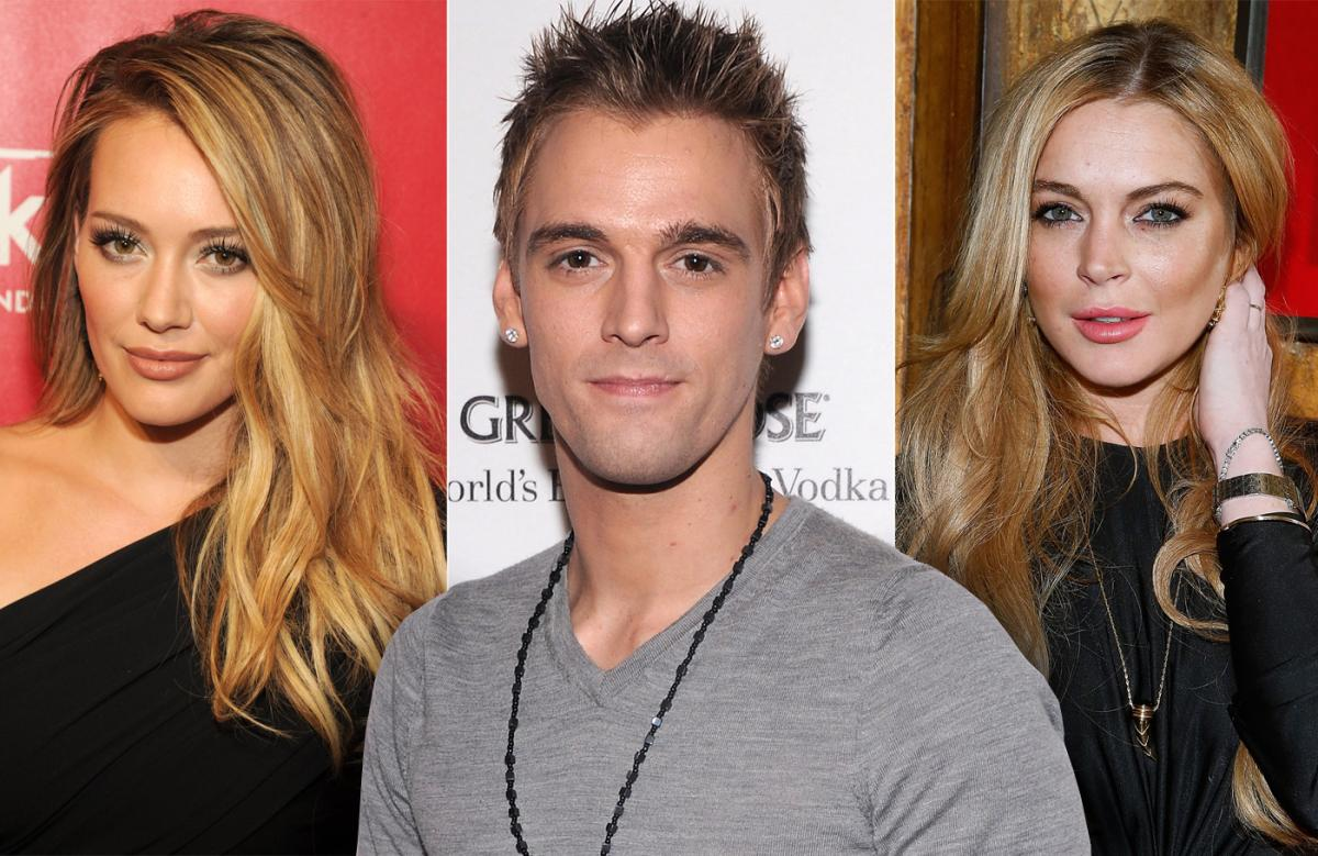 09_celebrity_friends_who_dated_the_same_person_hilary_duff_aaron_carter_lindsay_lohan