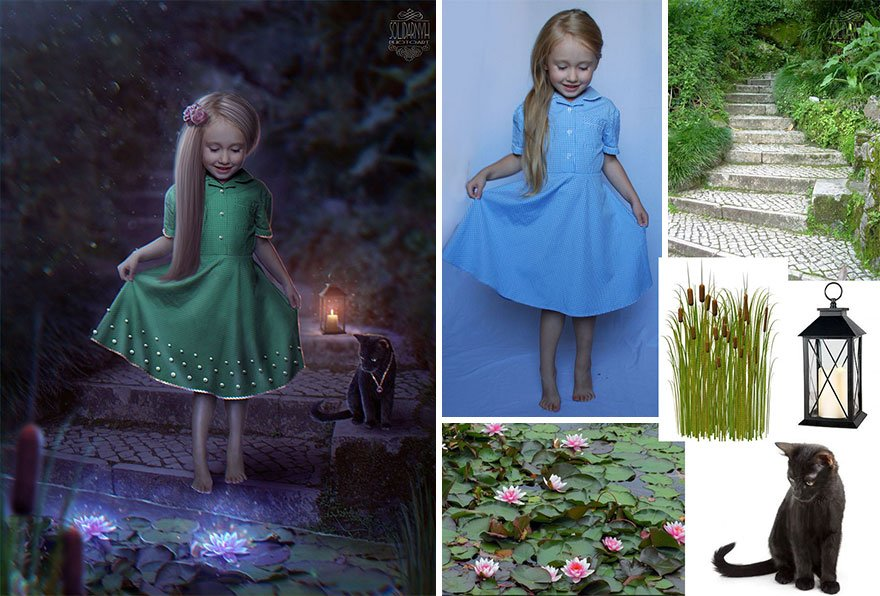 8_This Ukranian Artist Uses Photoshop To Make Gorgeous Fairytale Images